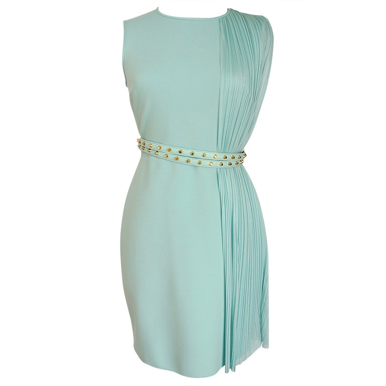 VERSACE dress exquisite details glorious colour NEW 8 1