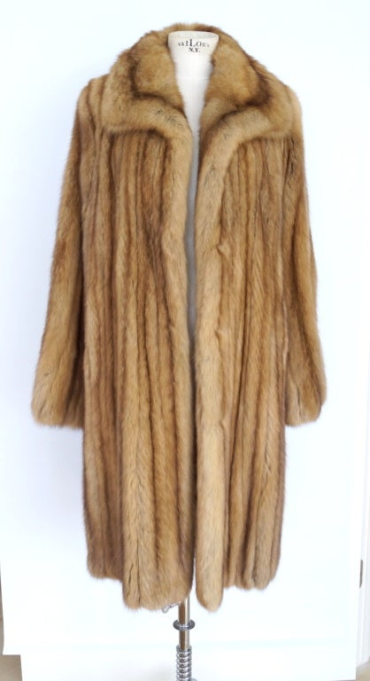 ZANDRA RHODES coat Golden Russian Sable stroller 6 timeless 2