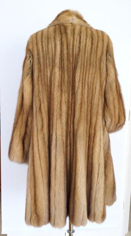 ZANDRA RHODES coat Golden Russian Sable stroller 6 timeless 3