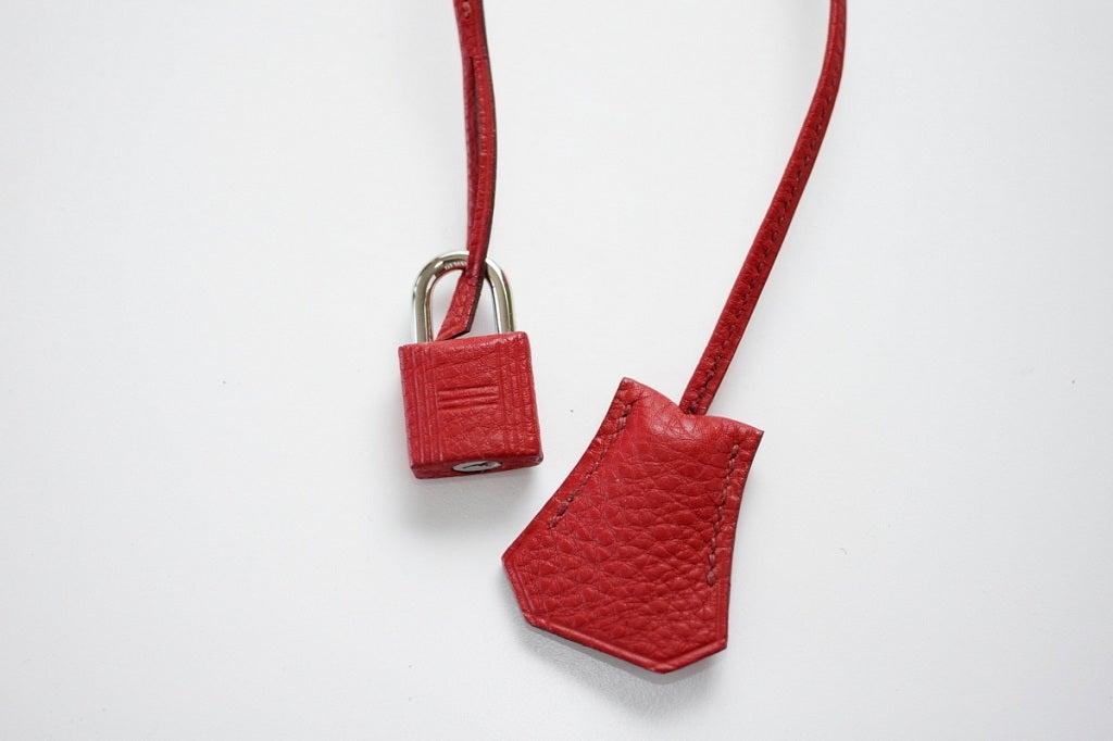 HERMES BIRKIN 35 bag tri color special order Vert Anis Rouge Garrance Blue Jean 3