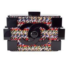 CHANEL bag BOY BRICK LEGO Fantasy Tweed box