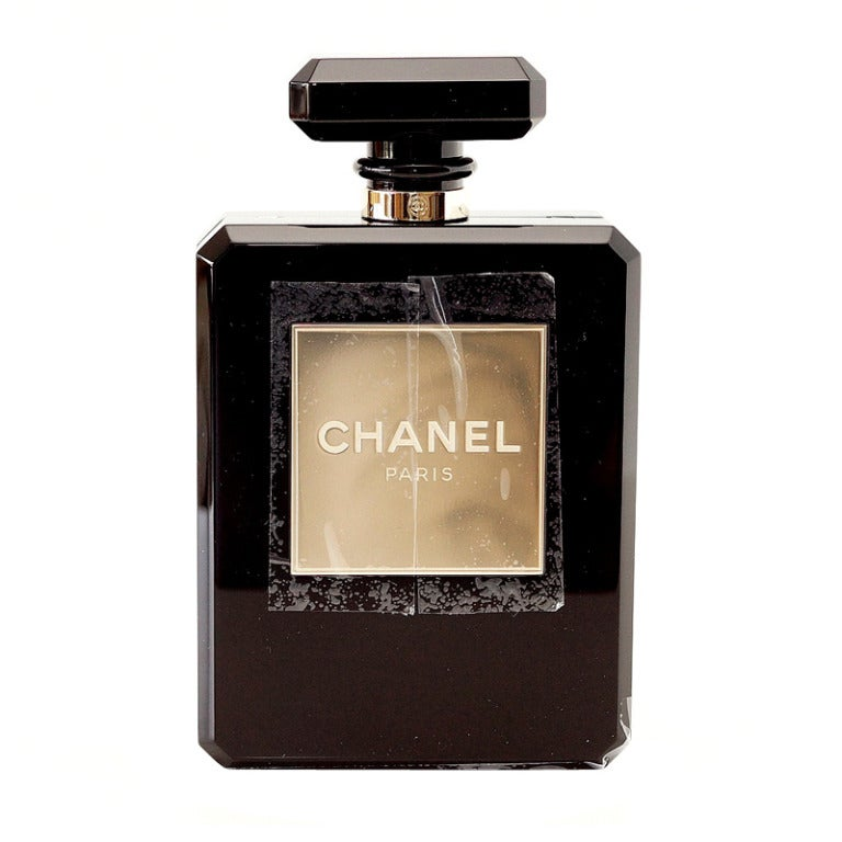 CHANEL bag black Perfume Bottle Limited Edition  New Gift Box 1