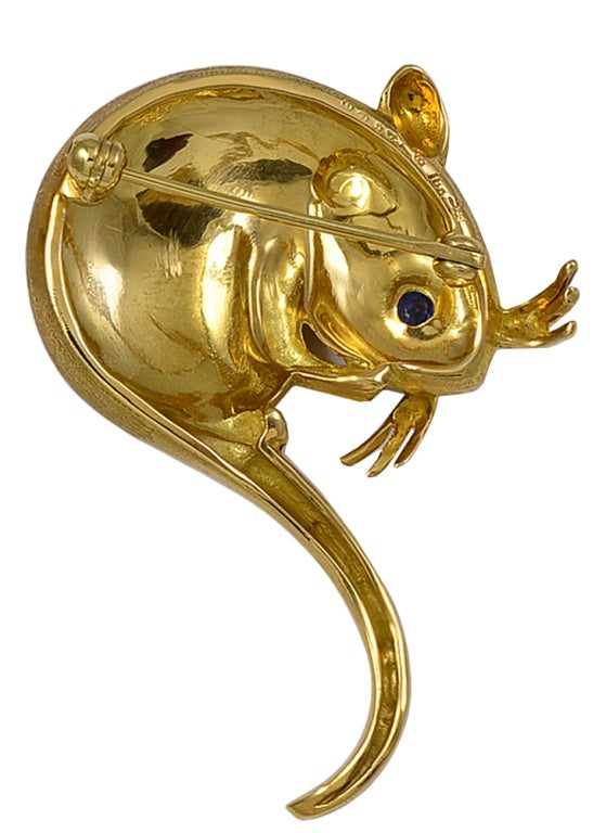 Sapphire Gold Mouse Pin 2