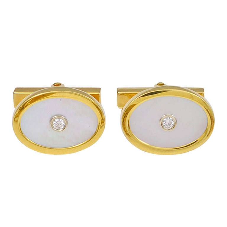 Cufflinks by TIFFANY&CO For Sale