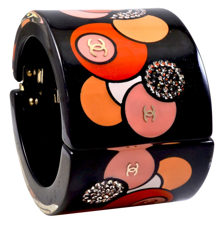 CHANEL Runway Lacquer Cuff 2