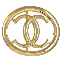 CARTIER Gold Belt Buckle