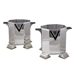 Maison Cardeilhac Set of Four Wine Coolers