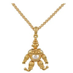CHOPARD Happy Diamond Clown Necklace