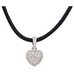 CARTIER Diamond Heart Drop