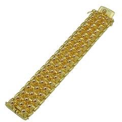 Extraordinary Two Color Retro Bracelet