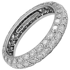 TIFFANY & CO Etoile Diamond Platinum Ring