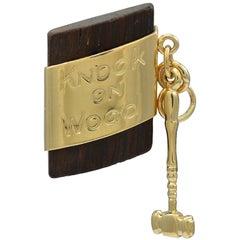 """Knock on Wood"" Unique Charm"