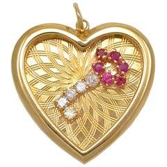 Key to My Heart Charm