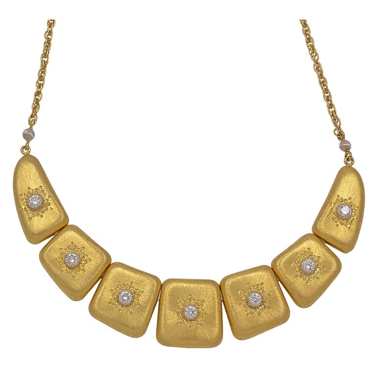BUCCELLATI Diamond Necklace