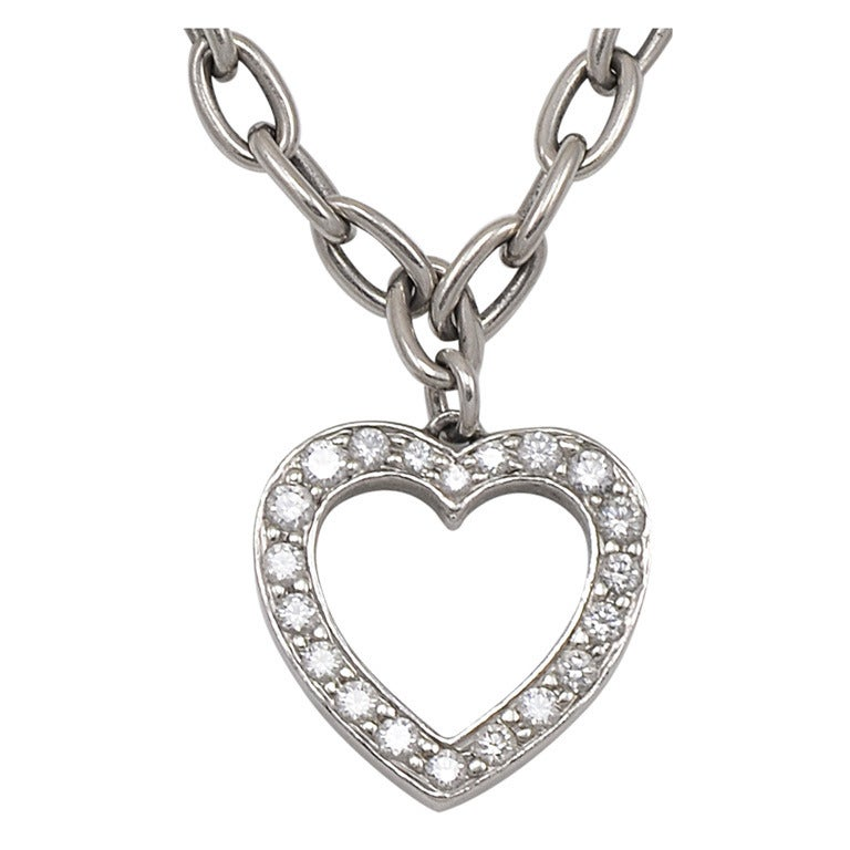 Tiffany & Co. Diamond Heart Bracelet 1