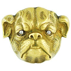 Victorian English Bull Dog Pin