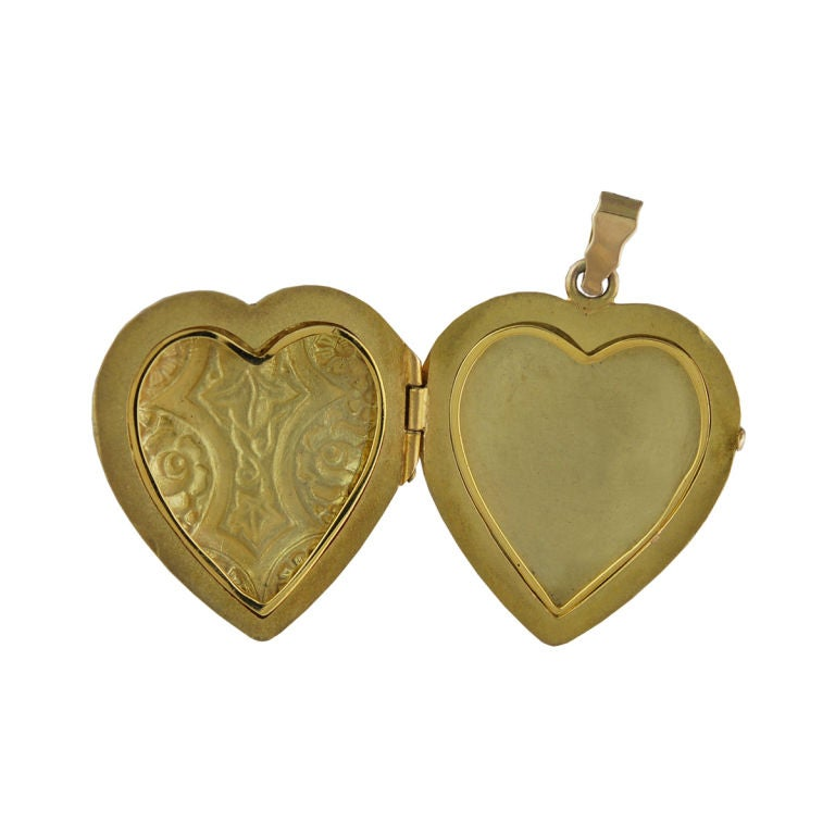 Enamel Heart Locket 2