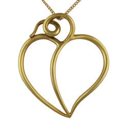 Tiffany & CO  Paloma Picasso  Heart  Drop
