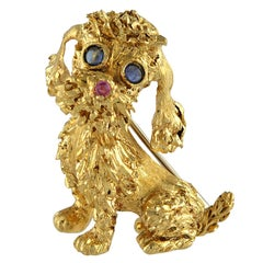 Three Dimensional Gold Poddle Pin