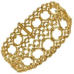 TIFFANY Open Work Lace Bracelet
