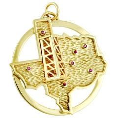 Texas Oil Well Pendant/ Charm