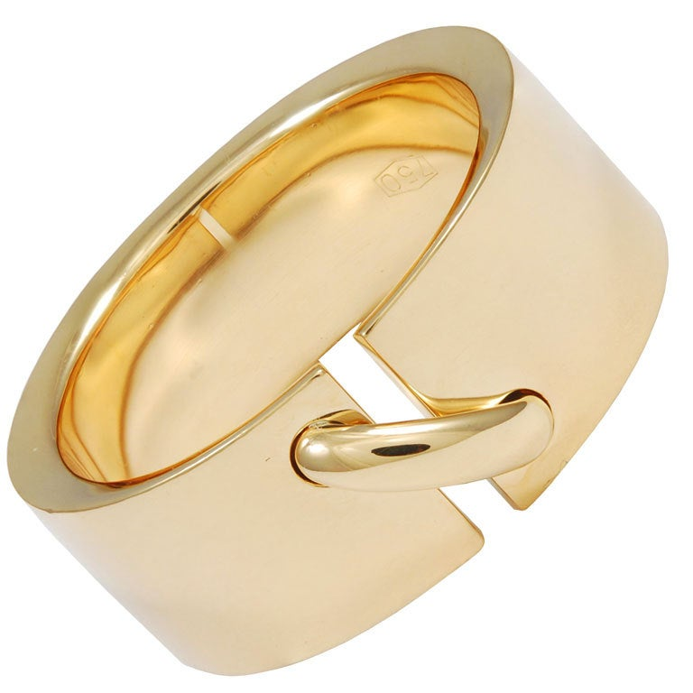 CHAUMET Gold Ring For Sale at 1stdibs