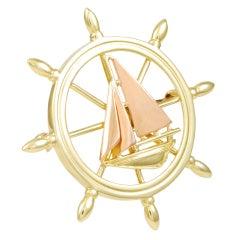 TIFFANY Sailboat Pin