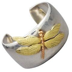 TIFFANY Dragon Fly Cuff Bracelet