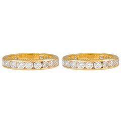 TIFFANY & CO. Diamond Eternity Rings