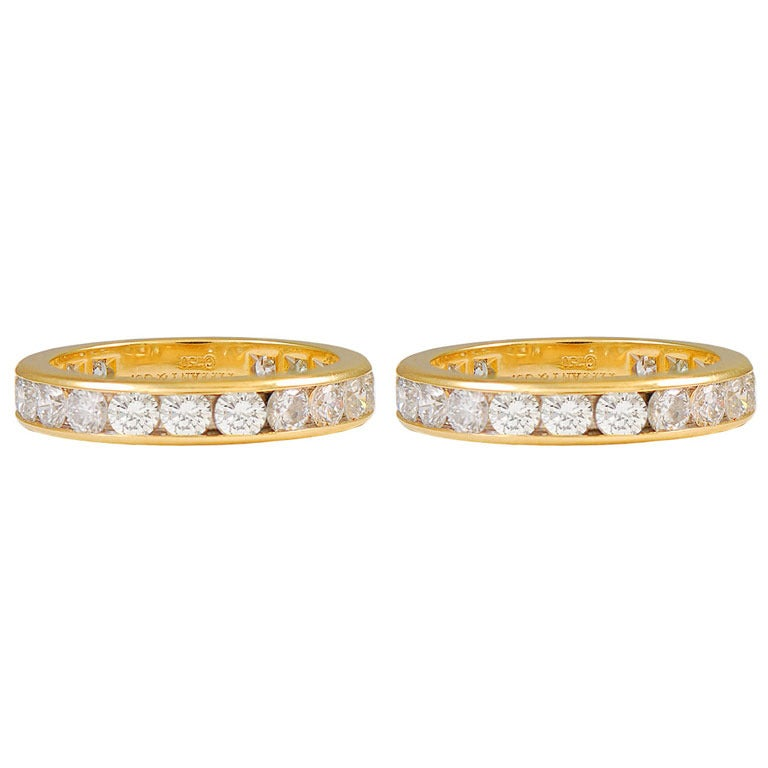 TIFFANY & CO. Diamond Eternity Rings For Sale