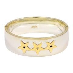 TIFFANY & CO.Three Star Bangle Bracelet