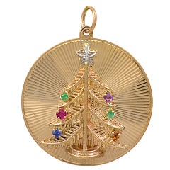 TIFFANY & CO 'Dearest' Christmas Tree Charm