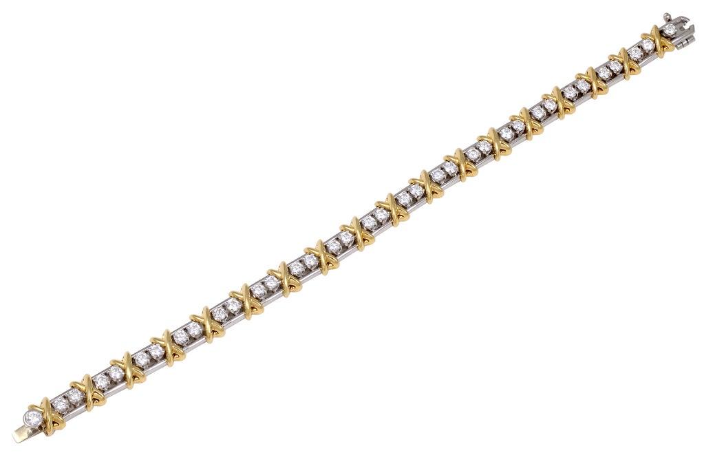 TIFFANY SCHLUMBERGER 36 Stone Bracelet 2