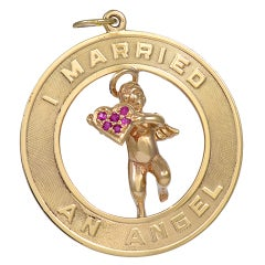 """I Married an Angel Pendant/ Charm"