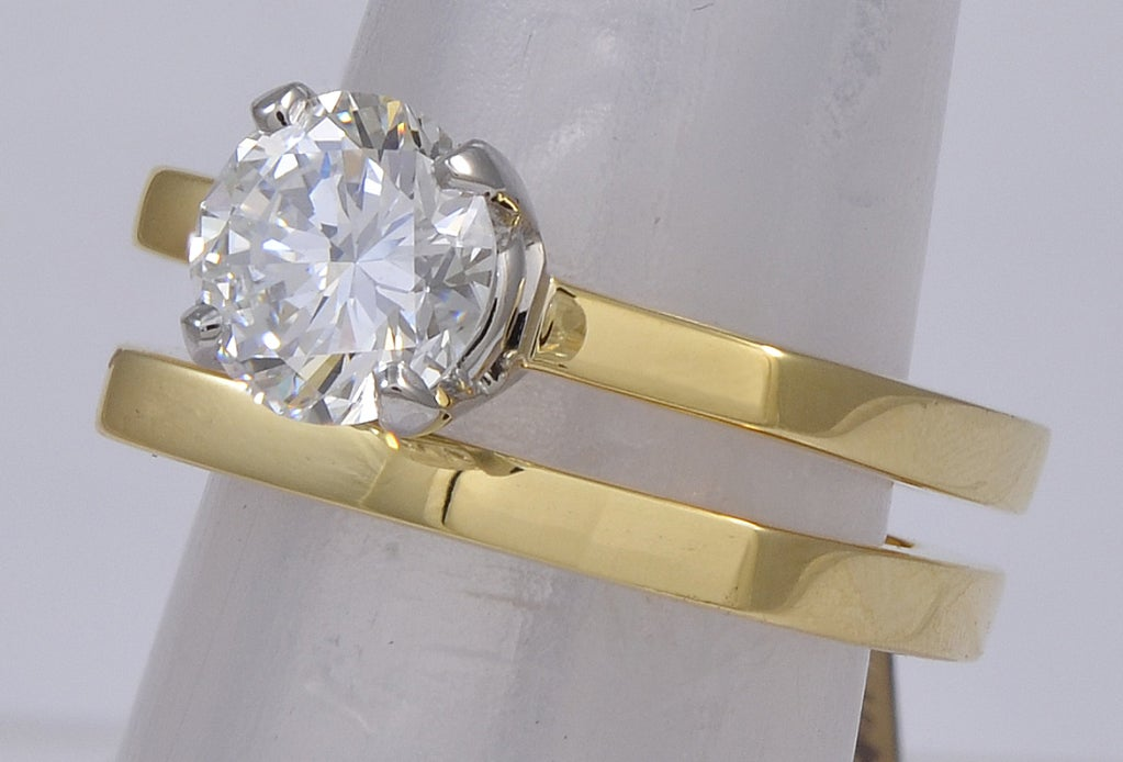 CARTIER DINH VAN DIAMOND Engagement Ring image 2