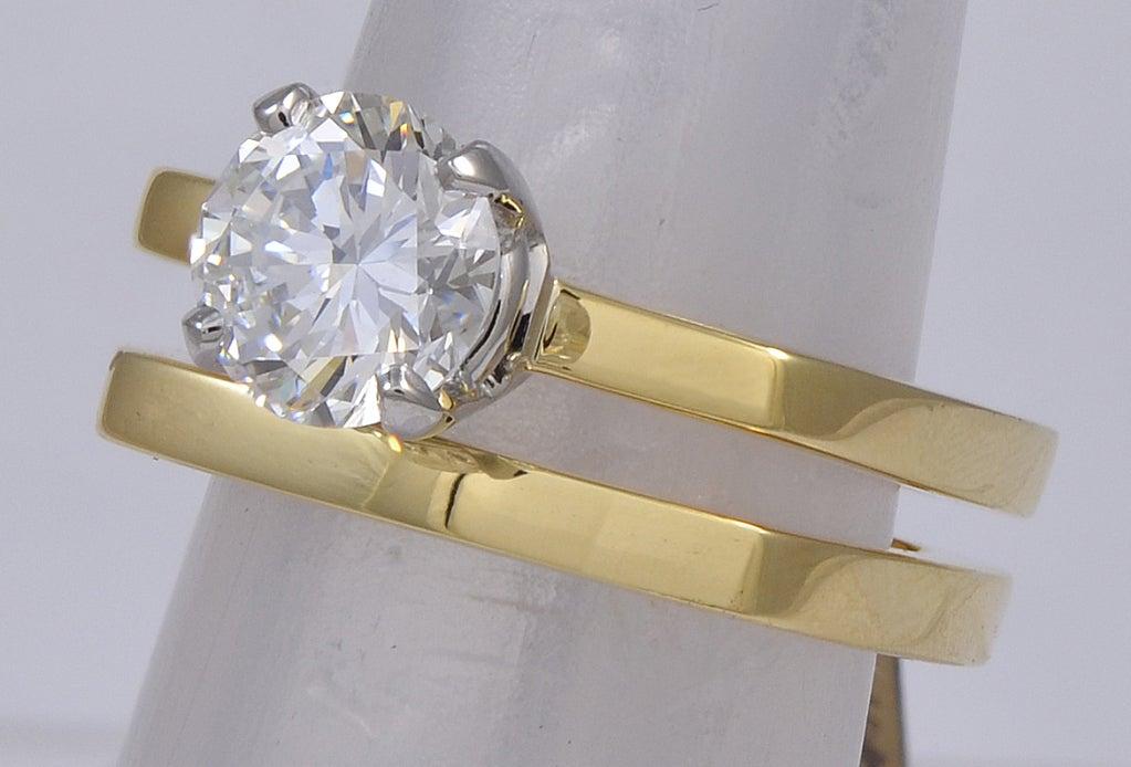 CARTIER DINH VAN DIAMOND Engagement Ring 2