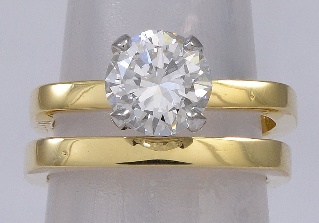 CARTIER DINH VAN DIAMOND Engagement Ring In Excellent Condition For Sale In New York, NY