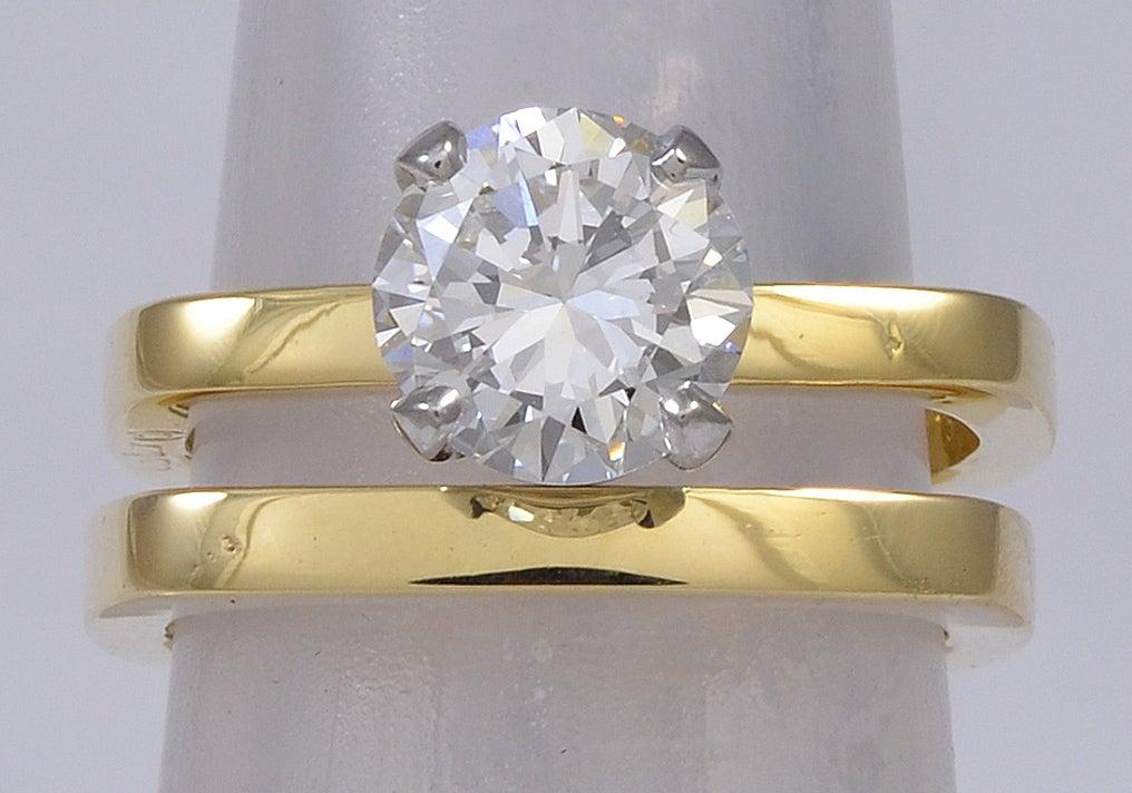 CARTIER DINH VAN DIAMOND Engagement Ring 3