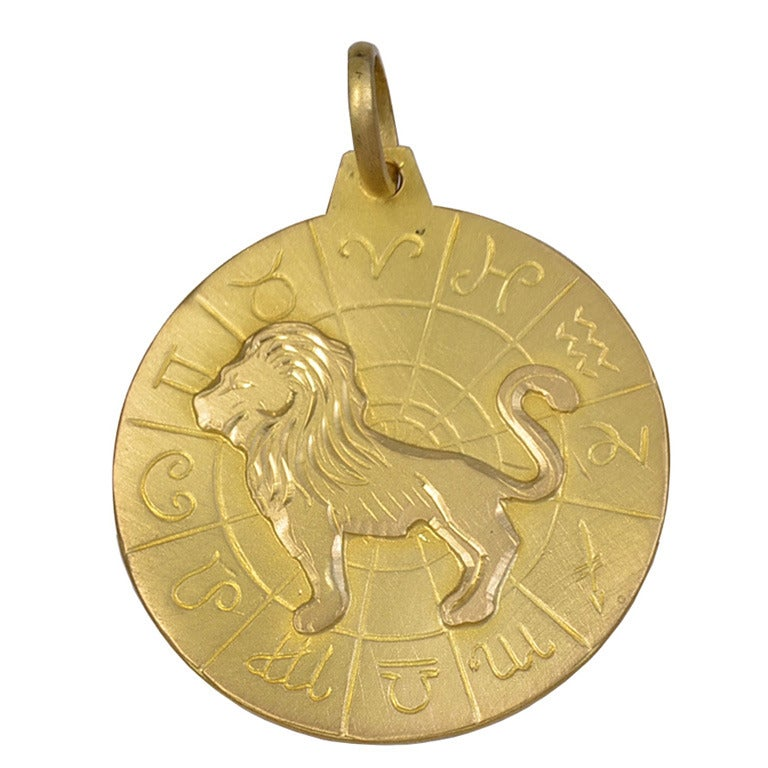 quot leo quot the charm pendant at 1stdibs