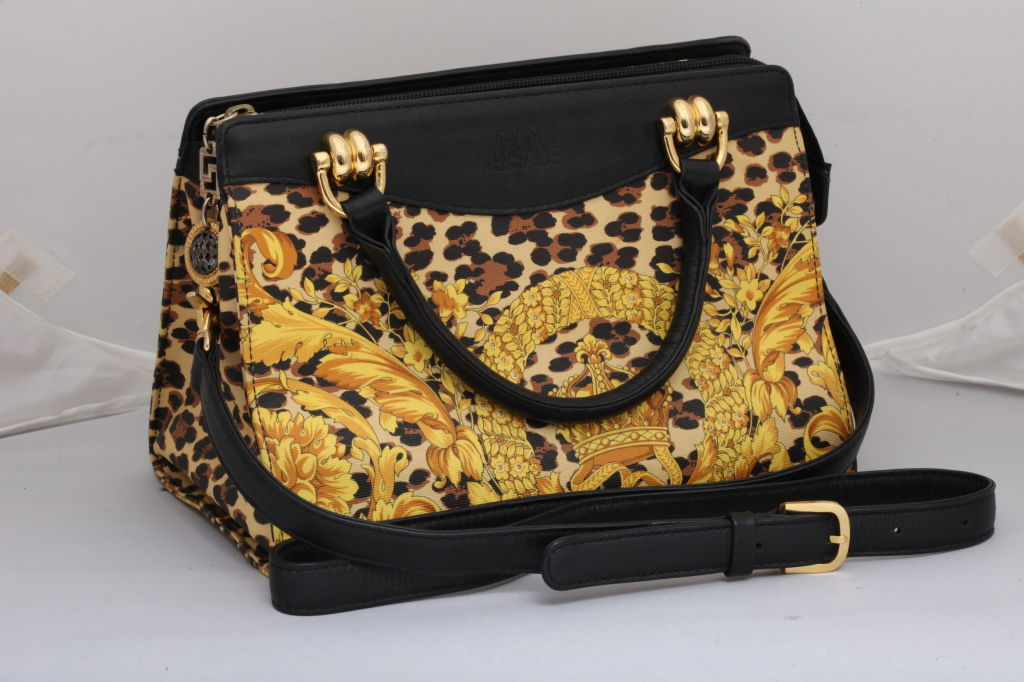 Gianni Versace Baroque Print Bag 3