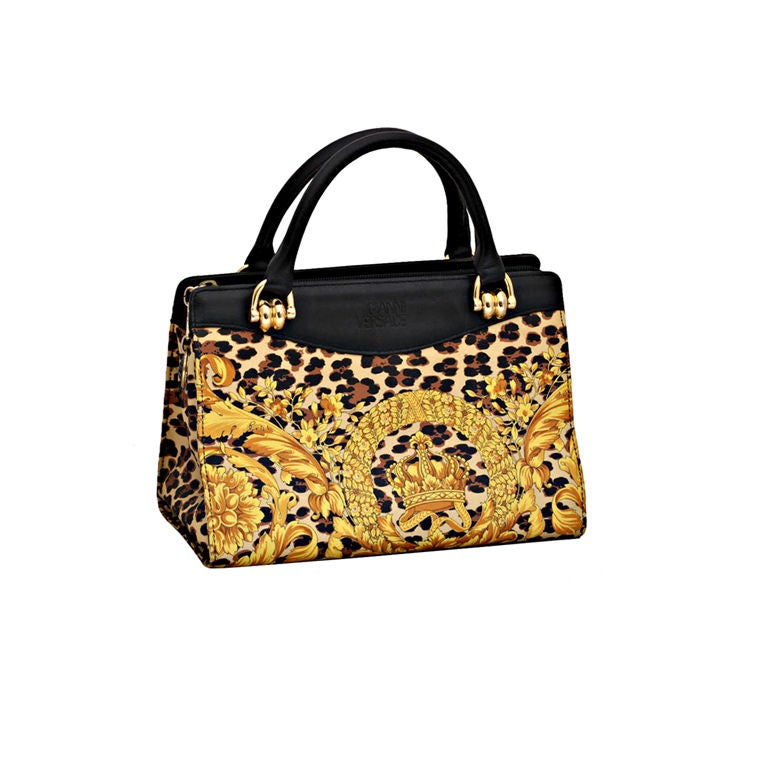 Gianni Versace Baroque Print Bag 1