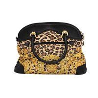Gianni Versace Baroque Print Bolide Bag