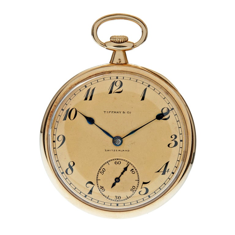 Patek Philippe 1920 S Pocketwatch Made For Tiffany And Co