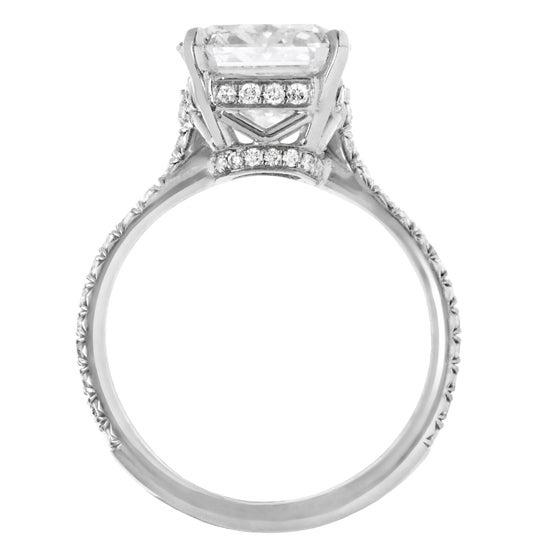 "Magnificent ""Marisol"" Radiant Cut Diamond Engagement Ring 2"