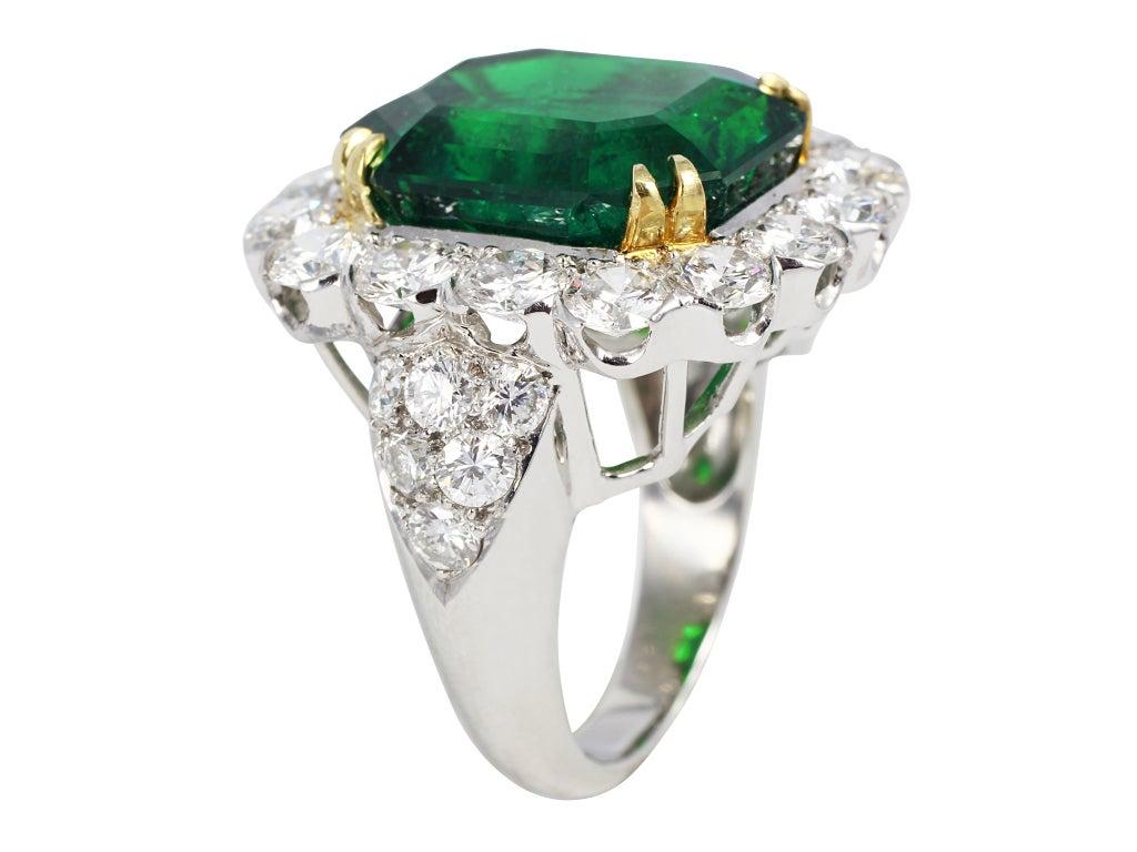 13 79ct emerald ring at 1stdibs