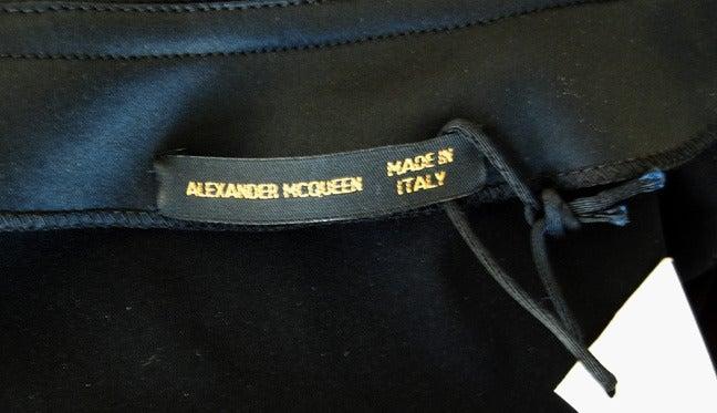 """Alexander Queen 2001 """"What a Merry Go Round"""" Spiral Zipper Ruffle Evening Dress For Sale 1"""
