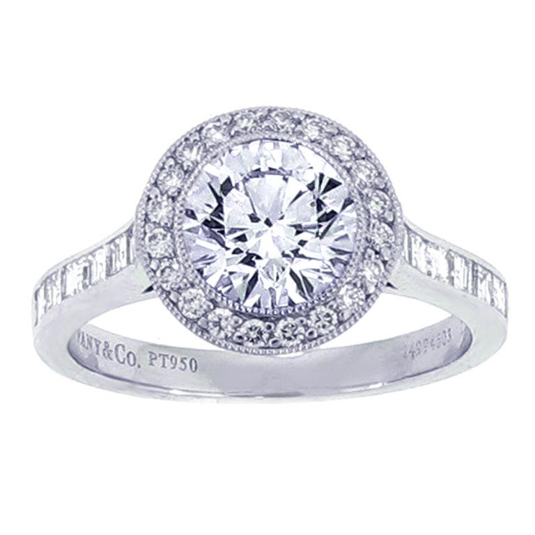 Tiffany And Co Diamond Engagement Ring At 1stdibs