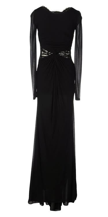 New Emilio Pucci Embellished Black Lace Gown In New never worn Condition For Sale In Montgomery, TX