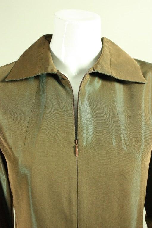 1990's Kenzo Sharkskin Dress 5