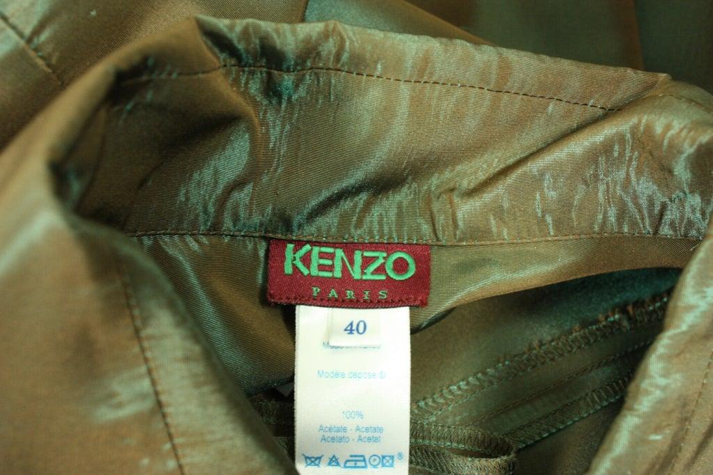 1990's Kenzo Sharkskin Dress 7